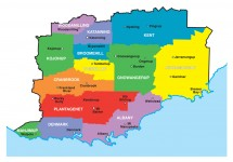 Regional Map Great Southern WA